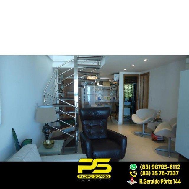 (LUXO) Cobertura com 2 qts sendo 1 suíte à venda, 130 m² por R$ 1.000.000 - Beira mar Cabo - Foto 9