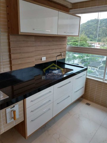 Apart. 4 dorms, 3 Vagas, Canto do Forte, JGA135 - Foto 6