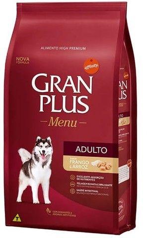 Granplus Menu porte Médio frango ou carne 15 kg 115,00