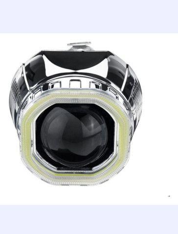"Projetor retrofit 2,5"" angel eyes para moto"