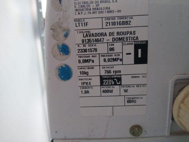 Maquina de Lavar Roupas Electrolux Turbo Cap. 10 Kg - Foto 3