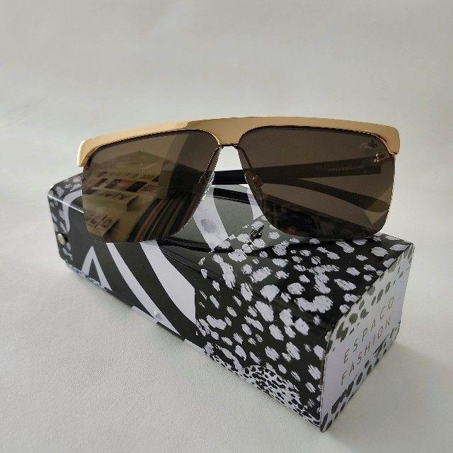 Óculos de sol Semi Novo unissex chillibenas / Edição limitada da linha Loucura da Nobreza - Foto 5