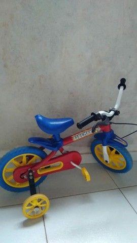 Bicicleta infantil bombeiro  - Foto 3