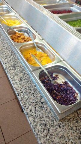 Carro buffet  self service.semi nova - Foto 4