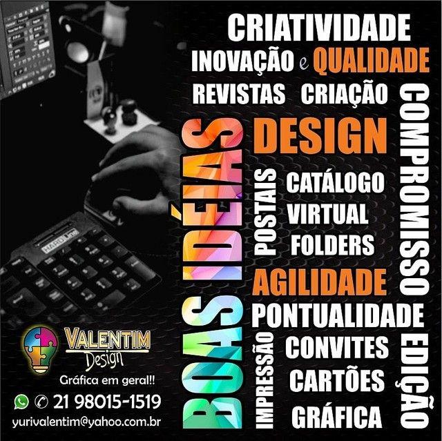 Valentim Design - Gráfica e Marketing