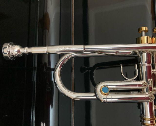Trompete Yamaha Japan Prata  - Foto 3