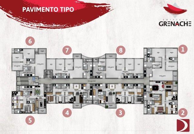 Lançamento na Jatiúca - EDF Grenache - 3/4 sendo um suite - Financiamento direto com a con - Foto 7