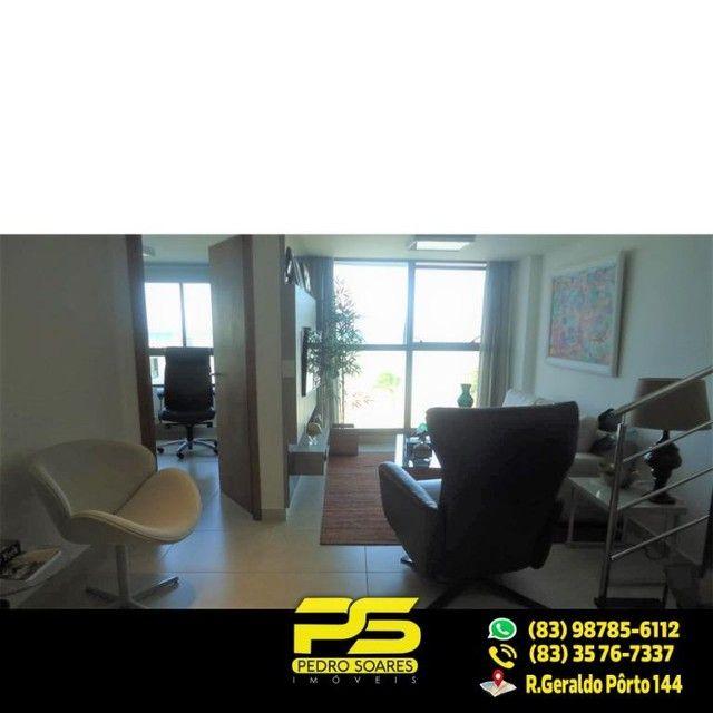 (LUXO) Cobertura com 2 qts sendo 1 suíte à venda, 130 m² por R$ 1.000.000 - Beira mar Cabo - Foto 10
