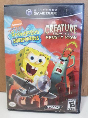 SpongeBob Squarepants - Creature from Krusty Krab para Gamecube