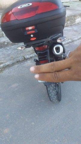 Moto XRE 2018 completa,verde.se for falsário nem ligue. - Foto 4