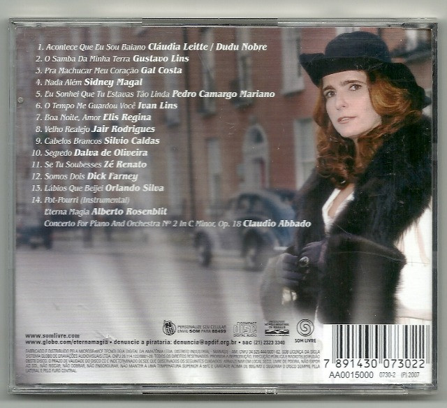 CD - Eterna Magia - Trilha Sonora Nacional - Foto 2