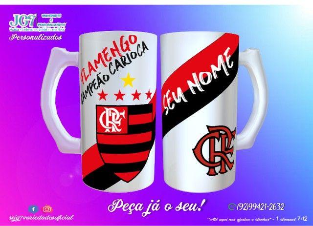 Caneca de Chopp Flamengo - Foto 5