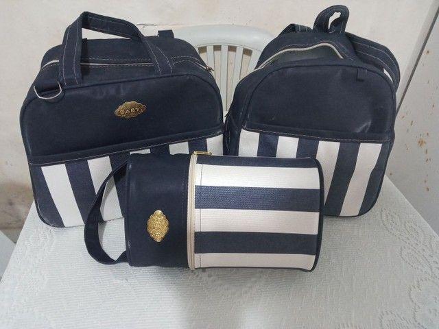 Vendo kit bolsas,kit berço vendo os dois por 250 - Foto 2