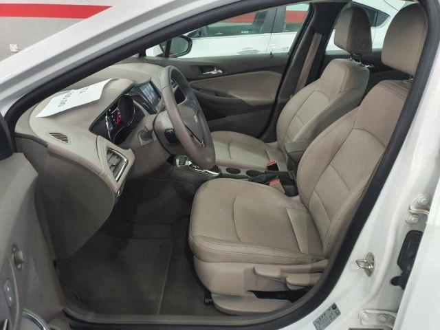 gm/cruze sedan ltz 1.4 turbo,ano 2018,u.dono,top de linha,branco,impecavel, sem detalhes - Foto 16