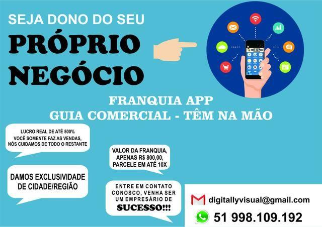 Franquia App Guia Comercial Têm Na Mão