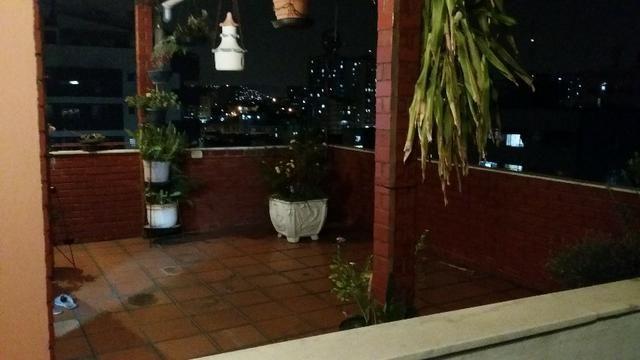 Cobertura muito ampla Méier Cachambi 3qts vaga varanda dps terração - Foto 7