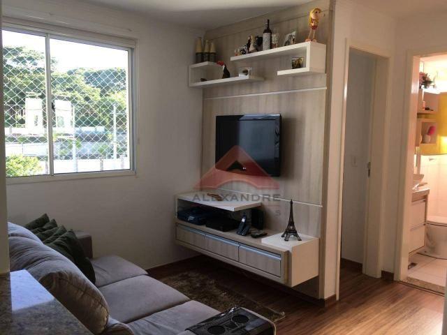 Apartamento à venda, 48 m² por r$ 185.000,00 - parque residencial flamboyant - são josé do - Foto 4
