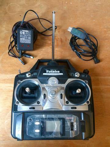 Rádio controle Futaba 6 Canais T6exap