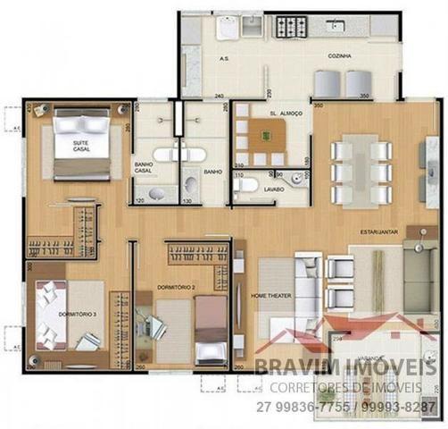 Amplo 3 quartos em Laranjeiras - Foto 3
