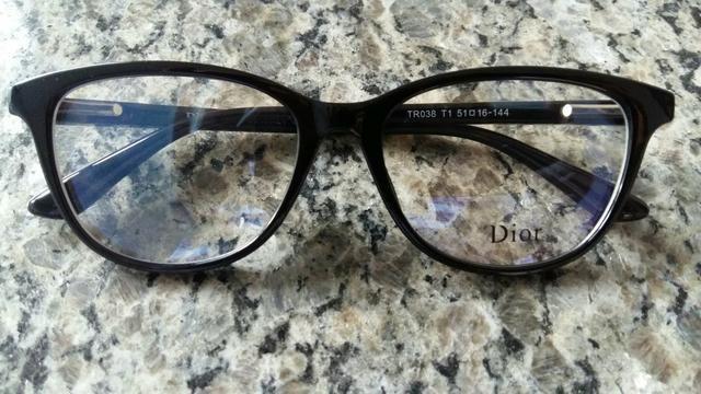 4e1396fe005fc Armação de óculos Dior - Bijouterias