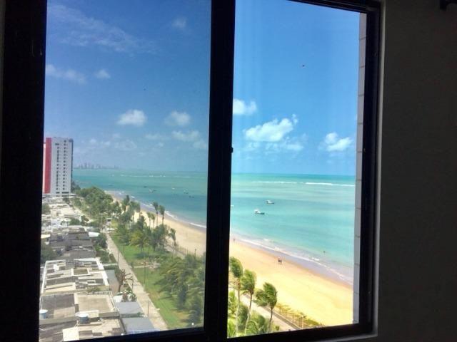 Apto 1qto, 212mil, frente ao mar, linda vista, frente praia - Foto 12