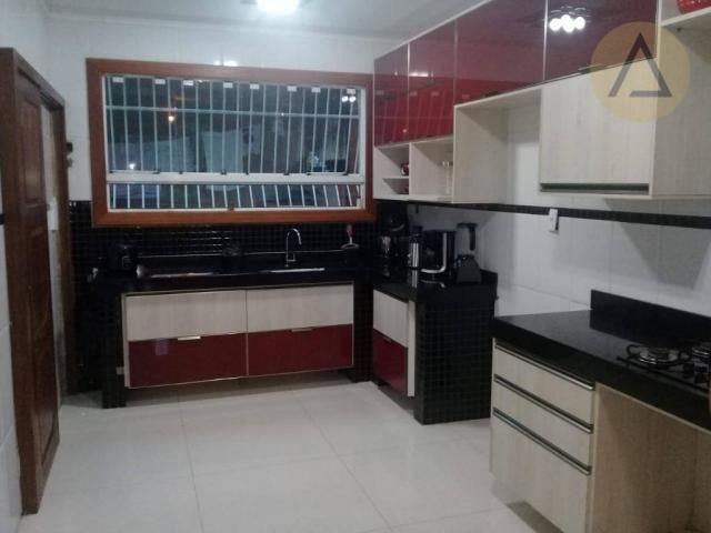 Atlântica imóveis tem excelente casa para venda no bairro Extensão Serramar em Rio das Ost - Foto 10