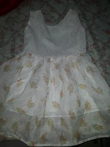Vestido rodadinho infantil