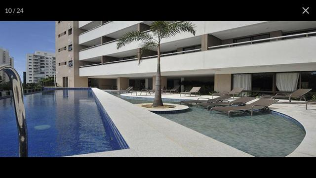 Apartamento Alphaville Cosmopolitan 1 suíte 52m² Nascente Finamente Decorado Vista Lagoa - Foto 4