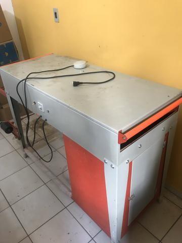 Maquina de fabricar sacola - Foto 6