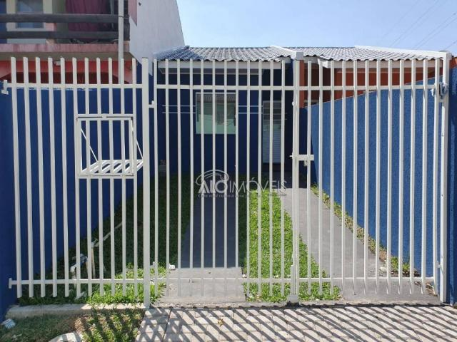Casa com 2 dormitórios à venda, 41 m² por r$ 160.000 - campo de santana - curitiba/pr