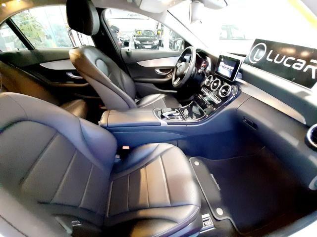 Mercedes benz c180 2017 comp+ couro+autom motor 1.6 2020 vistoriado - unico dono - Foto 9