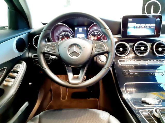 Mercedes benz c180 2017 comp+ couro+autom motor 1.6 2020 vistoriado - unico dono - Foto 12