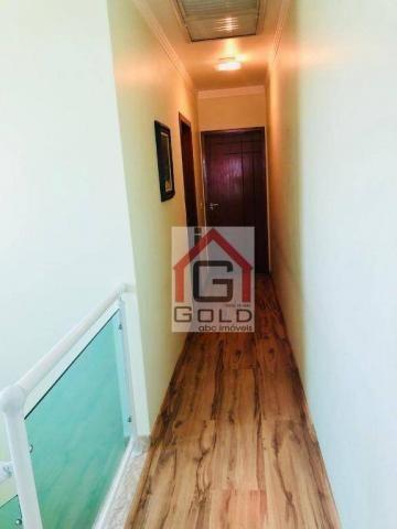 Sobrado com 3 dormitórios à venda, 195 m² por R$ 850.000 - Parque das Nações - Santo André - Foto 10