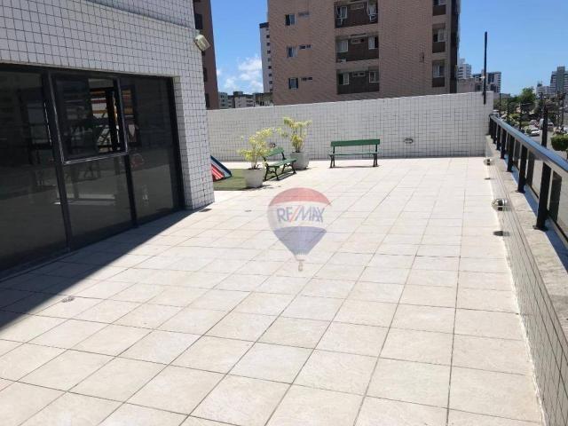 Apartamento com 3 dormitórios à venda, 116 m² por R$ 630.000,00 - Casa Caiada - Olinda/PE - Foto 11
