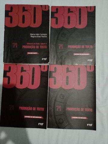 Livro  coleção 360° Leitura e produção de texto editora FTD