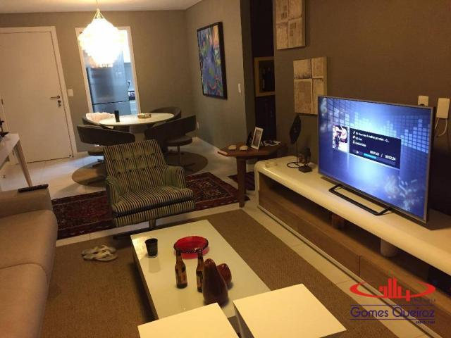 Apartamento com 3 dormitórios à venda, 118 m² - Porto das Dunas - Aquiraz/CE - Foto 10