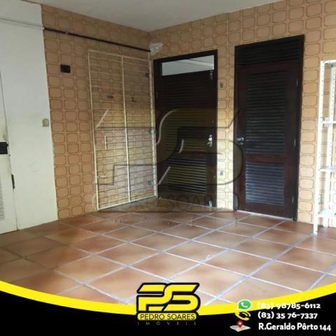 Casa com 4 dormitórios para alugar por R$ 7.000,00/mês - Tambaú - João Pessoa/PB - Foto 15