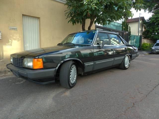 Opala diplomata 1988 completo carro placa preta leia discrição - Foto 2