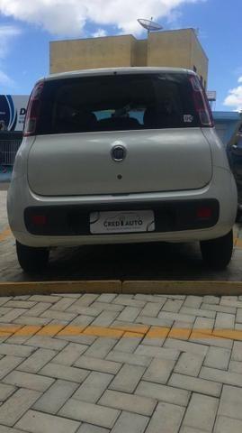 Fiat uno Vivace 1.0 Branco flex 2016 - Foto 4