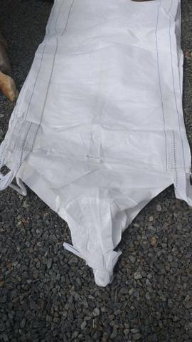 Big bag usados primeiro uso 0,90x0,90x1,90
