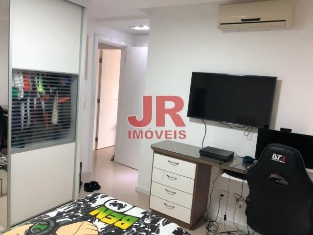 Excelente apartamento de alto padrão 4 suítes, decorado e mobiliado. Passagem-Cabo Frio-RJ - Foto 14