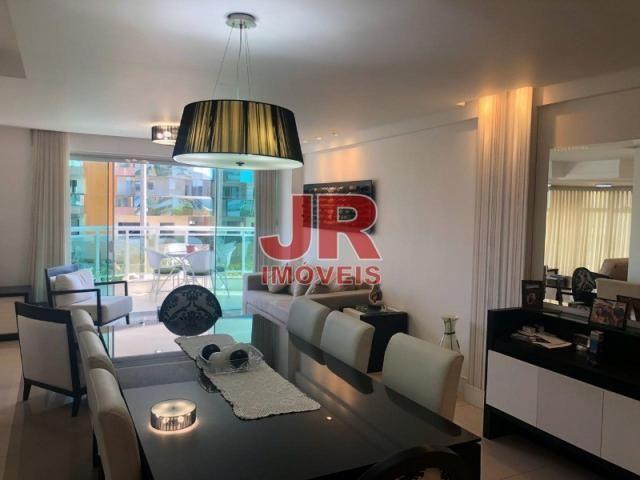 Excelente apartamento de alto padrão 4 suítes, decorado e mobiliado. Passagem-Cabo Frio-RJ - Foto 3