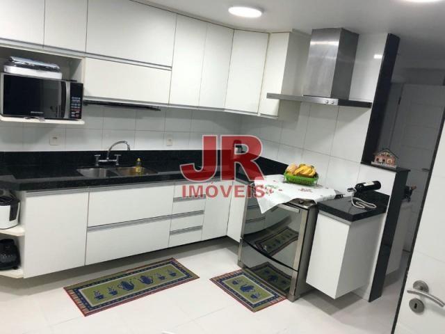 Excelente apartamento de alto padrão 4 suítes, decorado e mobiliado. Passagem-Cabo Frio-RJ - Foto 6