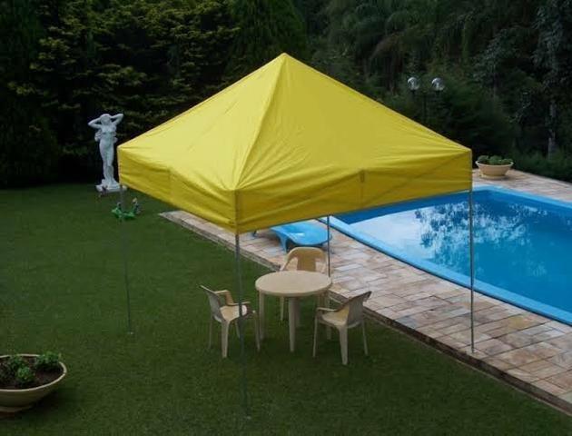 Tenda sanfonada com garantia e velcro grátis - Foto 4
