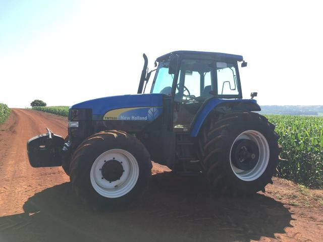 Trator new holland tm7020 ano 2009 - Foto 3