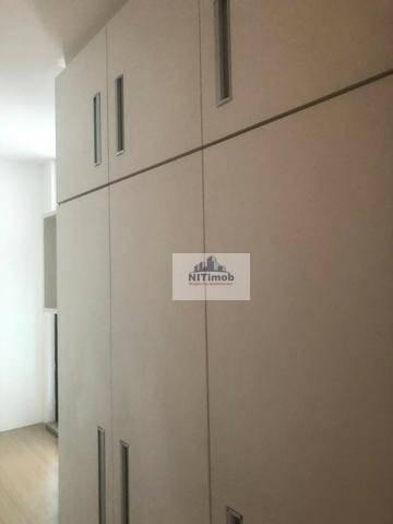 Excelente Apartamento na Mariz e Barros 272 em Icaraí no Condomínio Calle Veronna, com arm - Foto 18