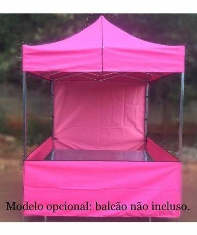 Tenda sanfonada com garantia e velcro grátis - Foto 6