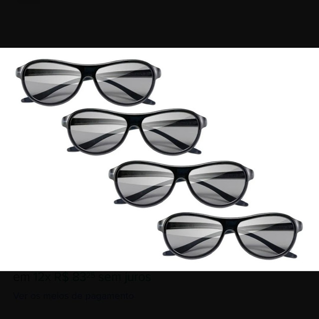 Óculos 3D AG-F310 (4 unidades) - Foto 3