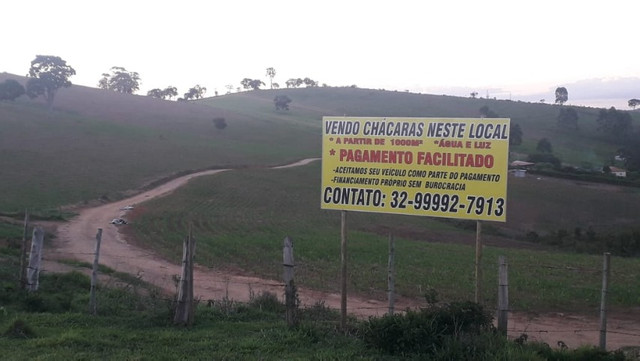 Chácara próxima ao Trevo de Barroso