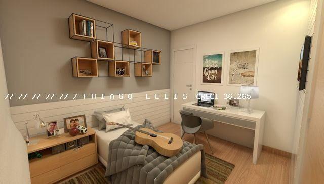 Bairro Bandeirantes lançamento lindo apartamento de 2 quartos suíte varanda elevador - Foto 8